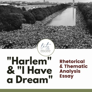 Harlem And I Have A Dream Essay  Tpt Harlem And I Have A Dream Essay  Making A Thesis Statement For An Essay also Independence Day Essay In English  Examples Of Thesis Statements For Narrative Essays