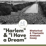 """""""Harlem"""" and """"I Have a Dream"""" Essay"""