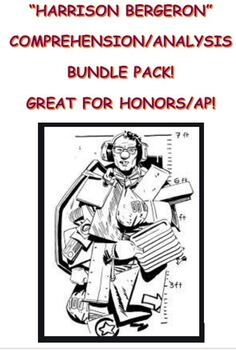 """Harrison Bergeron"" Bundle Pack"