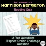 """Harrison Bergeron"" Plot Quiz"