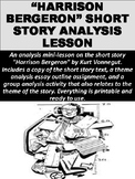 """Harrison Bergeron"" Short Story Analysis Lesson"