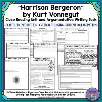 """Harrison Bergeron"" by Kurt Vonnegut Close Read & Argument"