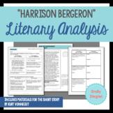 """Harrison Bergeron"" by Kurt Vonnegut Literary Analysis Gra"