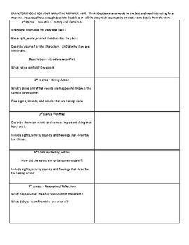"""""""Harrison Bergeron"""" extended narrative response with rubric"""