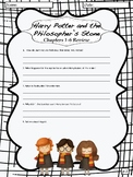 """Harry Potter and the Philosopher's Stone"" Chapter Review Sheets"
