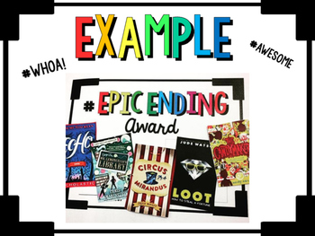 #Hashtag Book Awards - Engaging Readers with Book Awards