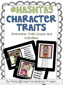 #Hashtag Character Traits