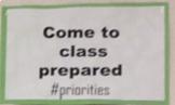 #Hashtag Classroom Rules