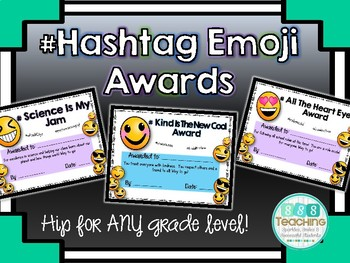 #Hashtag Emoji Awards