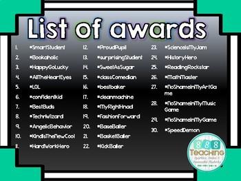#Hashtag Emoji Awards