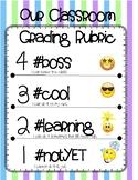 #Hashtag Grading Rubric