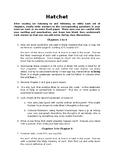 'Hatchet' Comprehension Questions