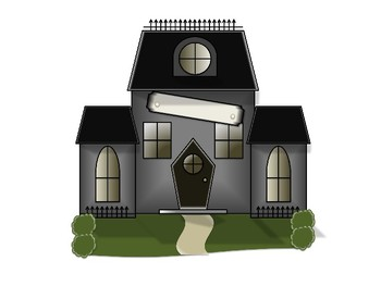 {Haunted House} Clip Art Set for Halloween