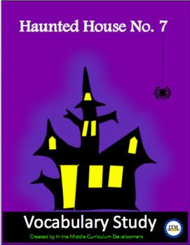 Haunted House Vocabulary Study