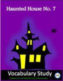 Haunted House Vocabulary Study