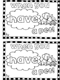 """Have"" Sight Word Mini Book"