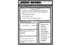 ¡Hazlo Ahora! packet 4(Daily Warm up for Bilingual Students)