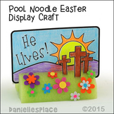 """""""He Lives!"""" Easter Display Craft for Easter Sunday School Lesson"""