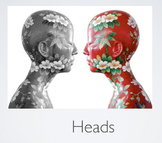 'Heads' - Advanced Drawing and Painting Project