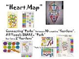 """Heart Map"" and 10 creative ""Gardens"""