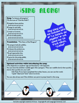 ¡Heart-Warming, Winter Story and Lesson, Featuring Select Spanish Vocabulary!