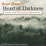 """Heart of Darkness"" Essay Response Questions and Rubric"