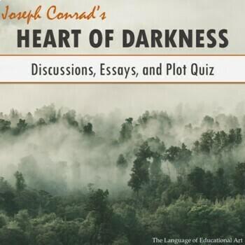 """""""Heart of Darkness"""" Plot Quiz (Multiple Formats)"""