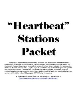 """Heartbeat"" Short Story Packet"
