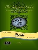 """""""Heidi"""" Unit Test and Answer Key"""