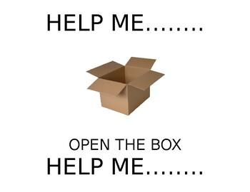'Help' Core Word Packet