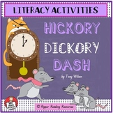 """Hickory Dickory Dash"" by Tony Wilson - Literacy Activities"