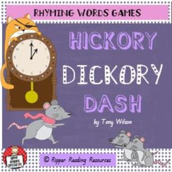 """Hickory Dickory Dash"" by Tony Wilson - Rhyming Words Games"