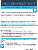 #HiddenFiguresTweetsProject - Media Literacy- Grade 7&8 - Ontario Curriculum