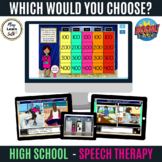 (High School) Which Would You Choose - Distance Learning - Boom Cards