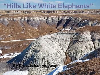 """""""Hills Like White Elephants"""""""