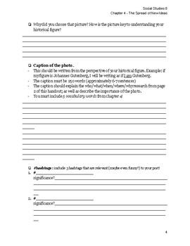 #HistoryInHashtags Project - Alberta Social Studies 8 Chapter 4
