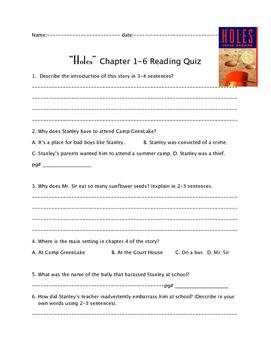 """""""Ho"""" Ch. 1-6 reading quiz"""
