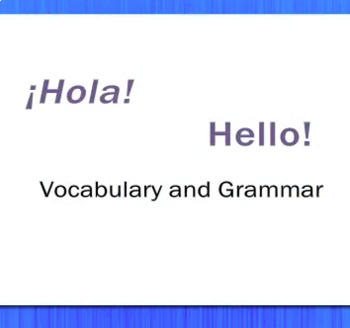 ¡Hola! - Hello! - Review Video Tutorial