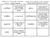 """""""Hold the Flag High"""" Vocabulary Concentration/Memory Game"""