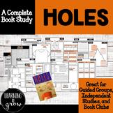Holes- Book Study