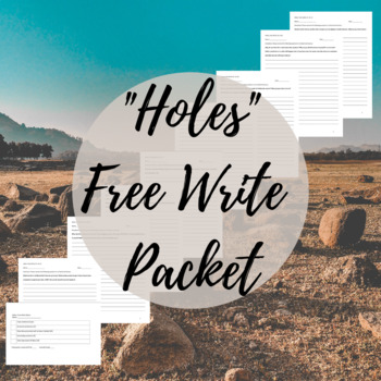 """Holes"" Free Write Packet"