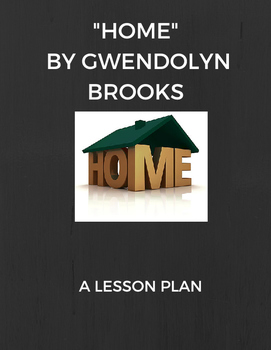 """Home"" Lesson Plan"