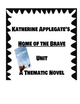 Home of the brave book study guide