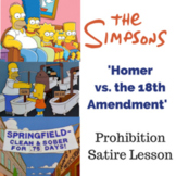 'Homer vs. the Eighteenth Amendment' Prohibition Satire Lesson
