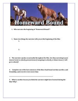 """""""Homeward Bound"""" Movie Guide"""