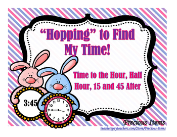 """Hopping"" to Find My Time:  Time to the Hour, Half Hour, 15 and 45 After"