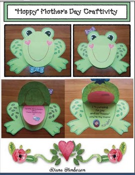 """""""Hoppy"""" Mother's Day Writing Prompt Craftivity"""