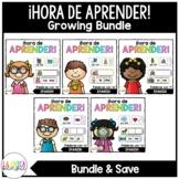¡Hora de Aprender! {Growing Bundle}