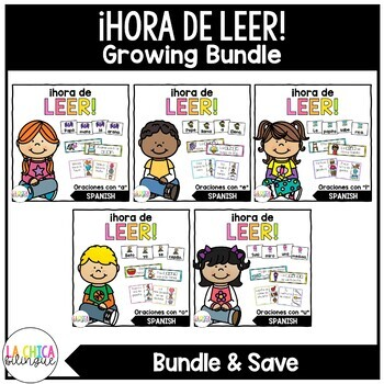 ¡Hora de Leer! {Growing Bundle}
