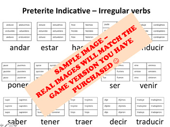 """Hormigas"" Low-Prep Spanish Conjugation Game: Imperfect Regular & Irregular Verb"